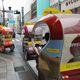 Velotaxis Gliding through Tokyo Streets