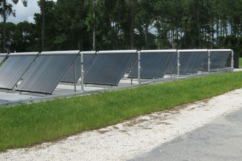 Photo: Solar Thermal Panels