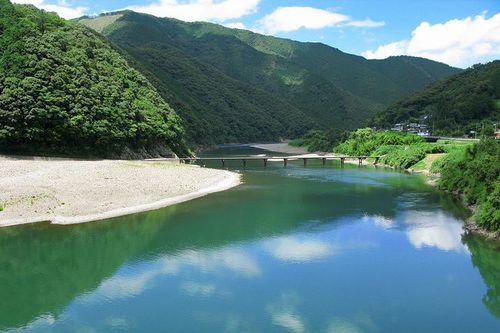 Photo: Shimanto River And Iwama Bridge