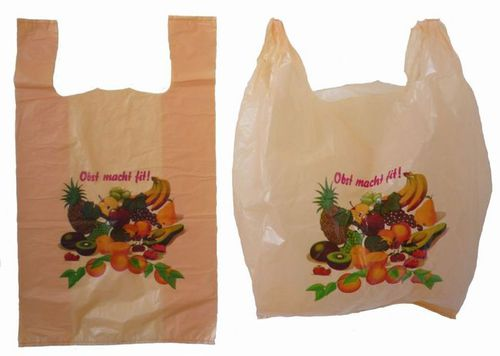 Photo: Plastic bag for shopping