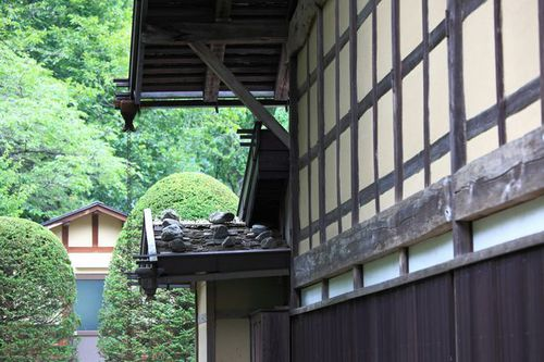 Photo: Japanese traditional style farm house