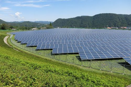 Photo: Aikawa mega solar plant