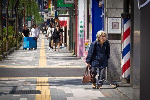 Photo: Senior Sidewalk