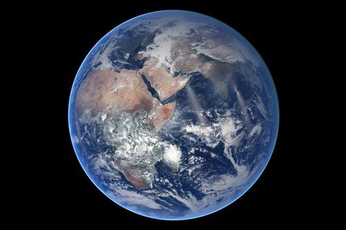 Photo: Blue Marble, Eastern Hemisphere