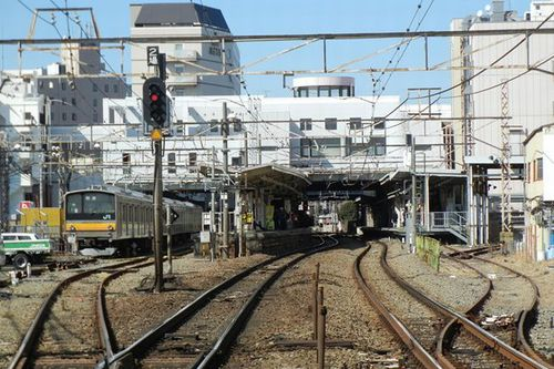 Photo: JR Nanbu Line Musashi-Mizonokuchi Station