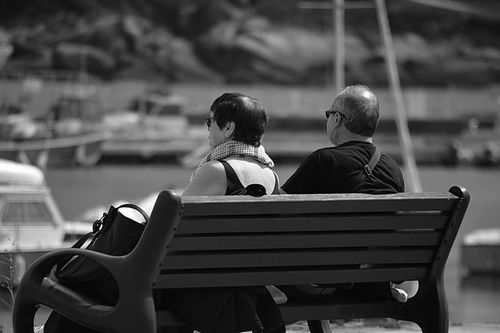 Photo: Old Couple