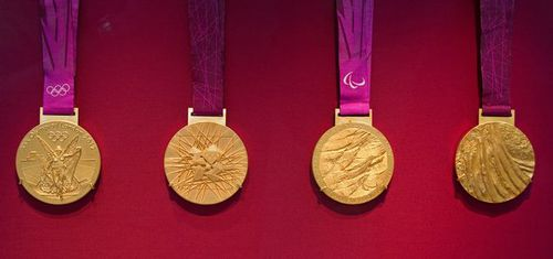 Photo: London 2012 Gold Medals