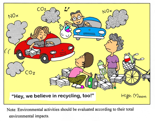 JFS/Hey, we believe in recycling, too!