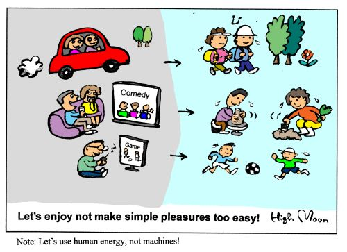 JFS/Let's enjoy not make simple pleasures too easy!