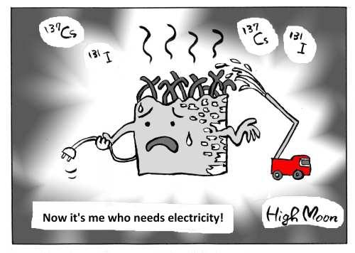 JFS/Now it's me who needs electricity!