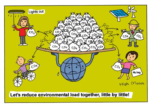 Let's reduce environmental load together, little by little!