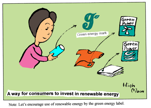 A way for consumers to invest in renewable energy