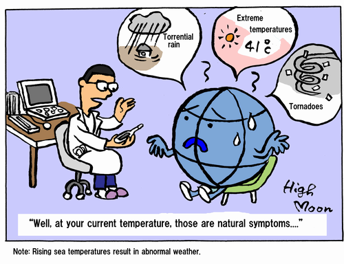 """""""Well, at your current temperature, those are natural symptoms...."""""""