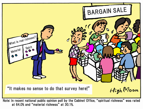 """It makes no sense to do that survey here!"""