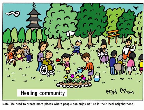 Healing community