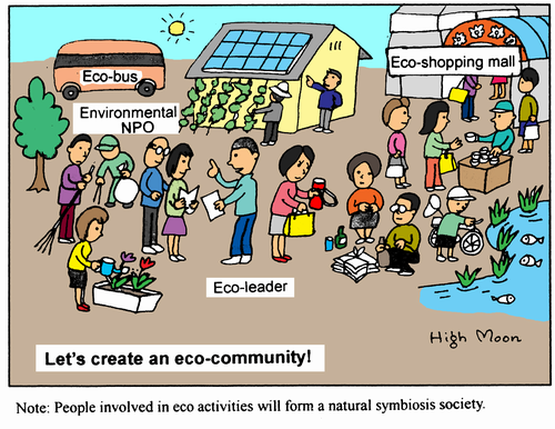 Let's create an eco-community!