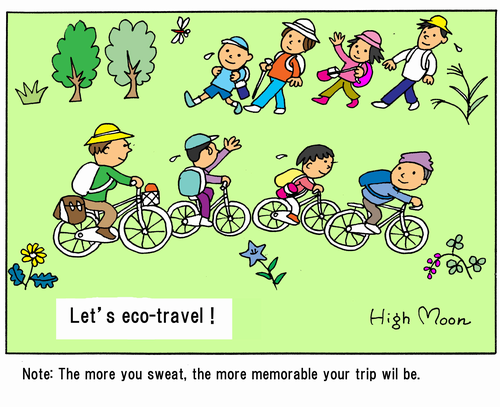 Let's eco-travel!