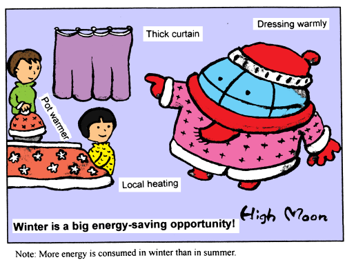 Winter is a big energy-saving opportunity!