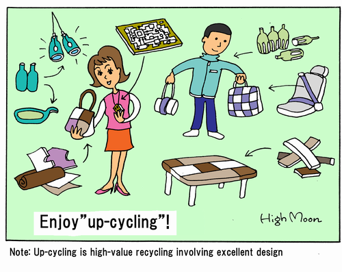 "Enjoy ""up-cycling""!"