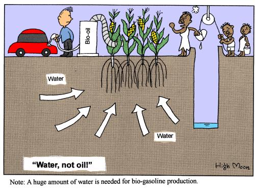 """""""Water, not oli!"""""""
