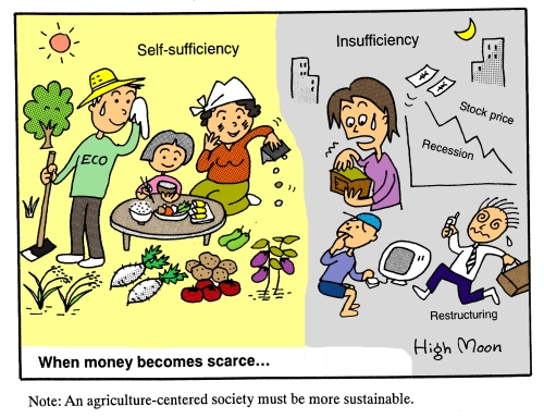 JFS/When money becomes scarce...