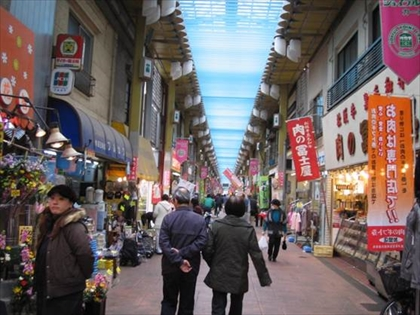 Photo: Shopping streets in Arakawa City