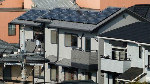 Photo: Solar roof