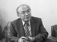 Photo: Yoshiteru Abe, President of of the Saroma Fishery Cooperative