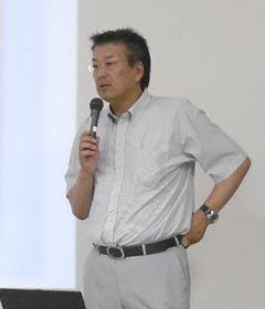 Photo:Mr. Yoshikazu Takahashi