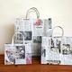 Recycled Newspaper Bag Goes International