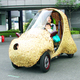 Electric Vehicle with Bamboo Body Developed in Kyoto