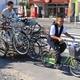 大学の放置自転車を再生 レンタサイクルで活用