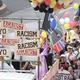 差別撤廃を求め、東京を大行進