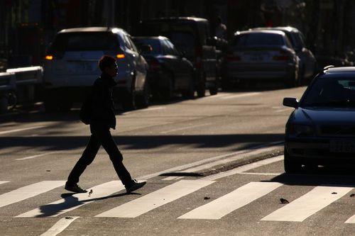 写真:横断歩道