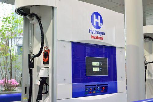 写真:水素ステーション