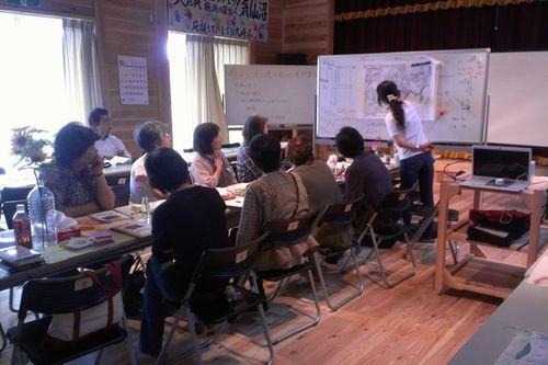 写真:「海、みらい!」防災女性学習会