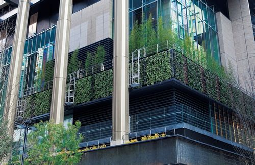 eco friendly office. jfsmitsubishi estate completes leadingedge ecofriendly office complex in marunouchi eco friendly