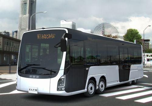 JFS/Kanagawa Pref. Announces Concept Vehicle for Electric Bus with Low, Full Flat Floor