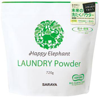 JFS/Saraya's Happy Elephant Laundry Powder Wins First Social Products Awards in Japan