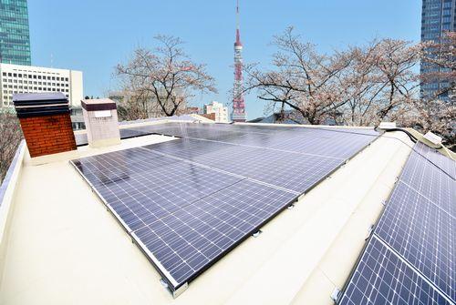 Roof Solar Panels Installed Using New Magnet Method