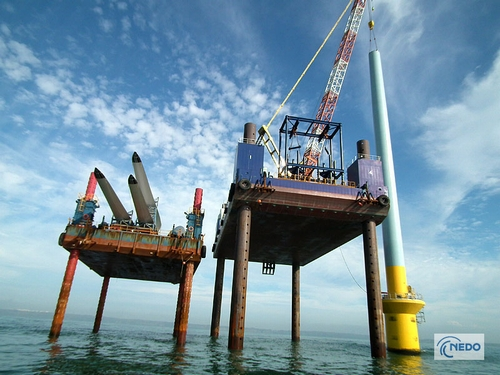 JFS/NEDO Promoting Japan's First Offshore Wind Power Demonstration Project
