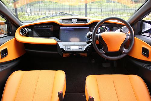 JFS/SIM-Drive to Develop Smart Transportation-Type EV