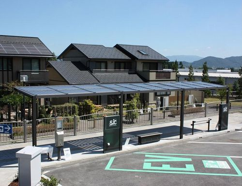 JFS/Solar-Powered Shelter with LED Lighting Jointly Developed for Street Facilities