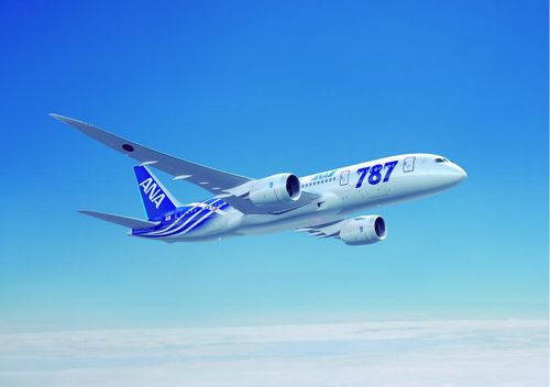 JFS/ANA, Boeing Conduct First 787 Transpacific Flight Using Biofuel