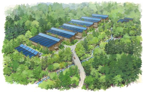 JFS/Shimizu Corp. to Construct First 'Zero-Energy' Building in Japan