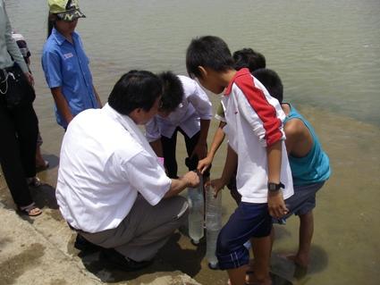 JFS/Inax education in Vietnam