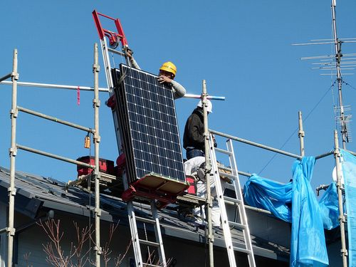 写真:Solar installation