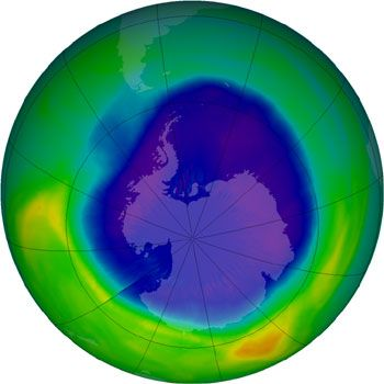 JFS/2010 Ozone Hole Is Third Smallest Since 1990: JMA Reports